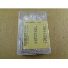 Resistor Assorted Kit 1/4w